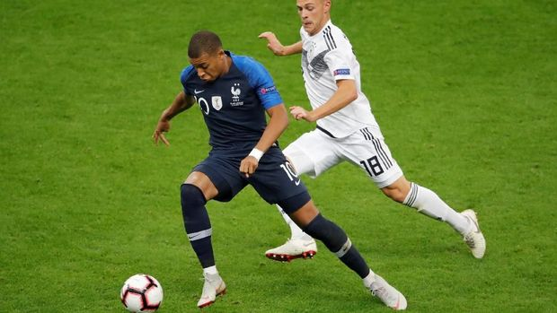 Timnas Prancis perlu bertahan dengan baik melawan Belanda.