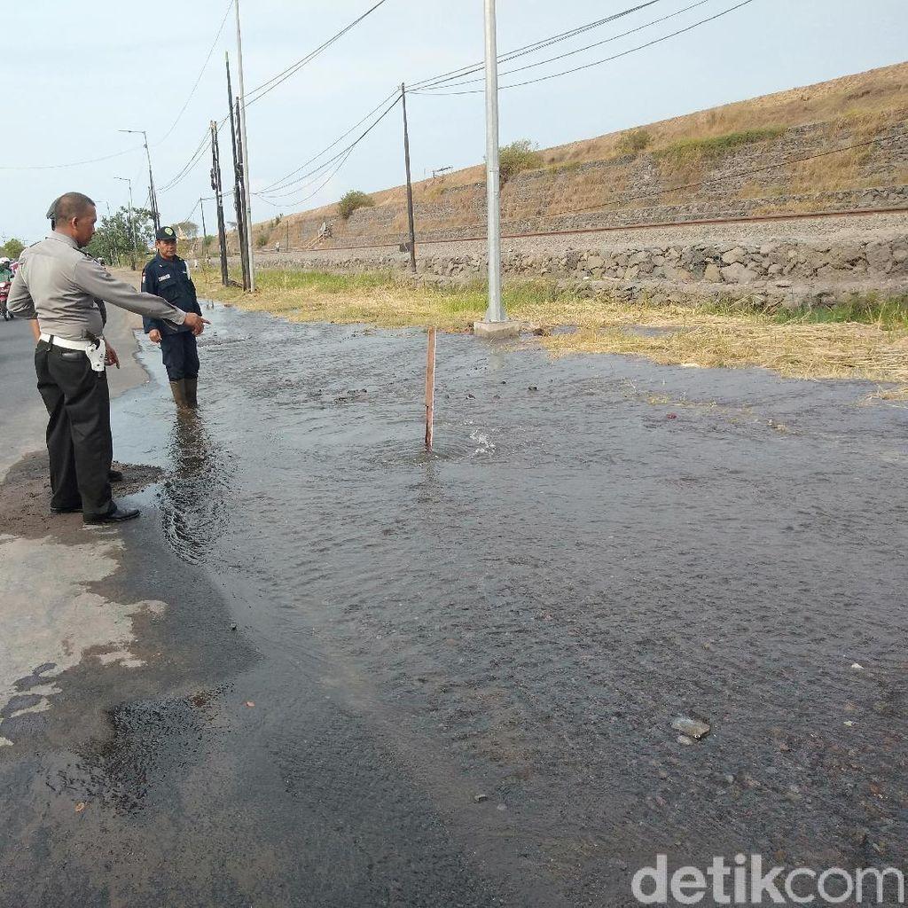 Pipa PDAM di Porong Jebol, Air di Kawasan Sidoarjo Ini Bakal Mampet