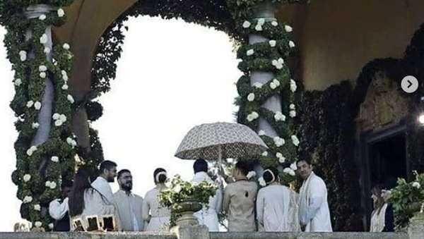 Suasana Pernikahan Deepika Padukone dan Ranveer Singh