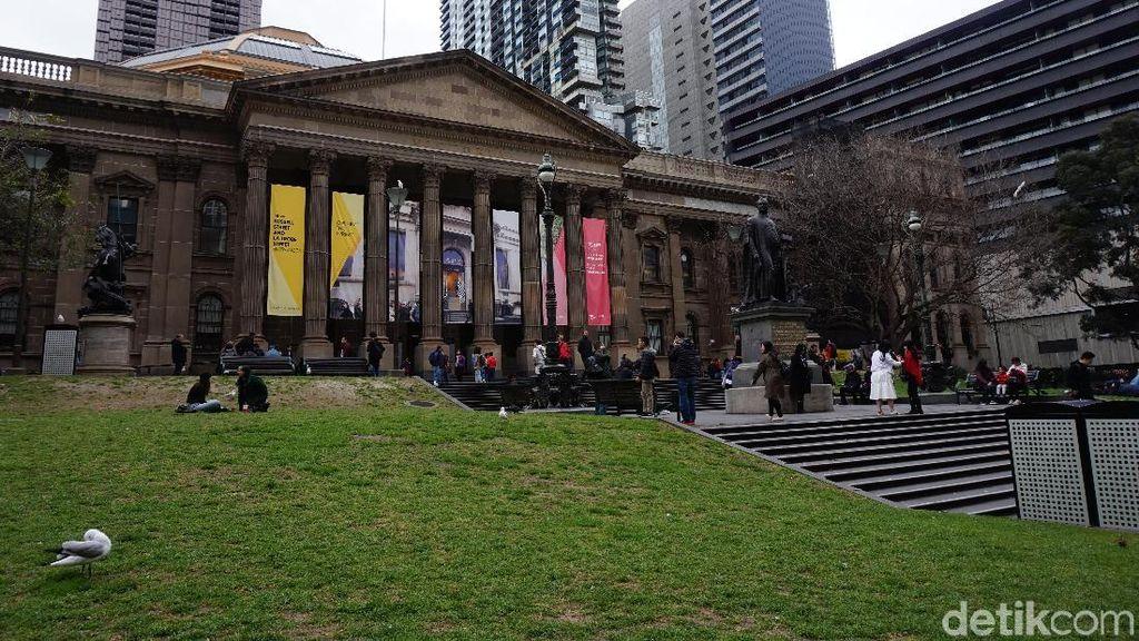Foto: Perpustakaan Bisa Jadi Objek Wisata di Australia!