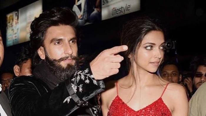 Deepika Padukone dan Ranveer Singh. Foto: Instagram