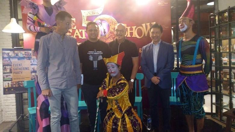 Oriental Circus Indonesia (Akfa Nasrulhak/detikcom)