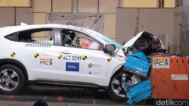 Crash Test Honda HR-V