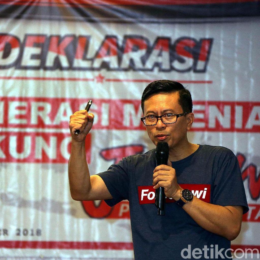 Dukungan Generasi Milenial untuk Jokowi-Maruf