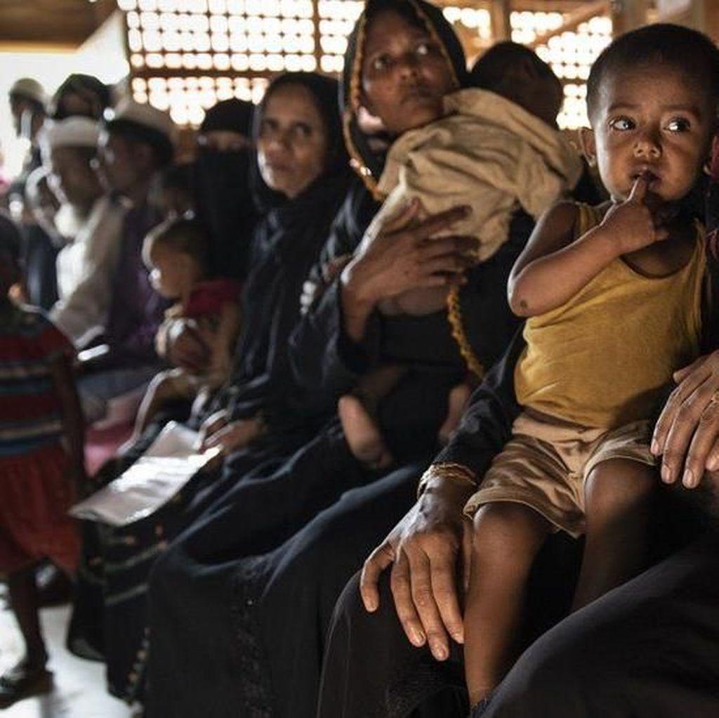Takut Dikembalikan ke Myanmar, Pengungsi Rohingya Bersembunyi
