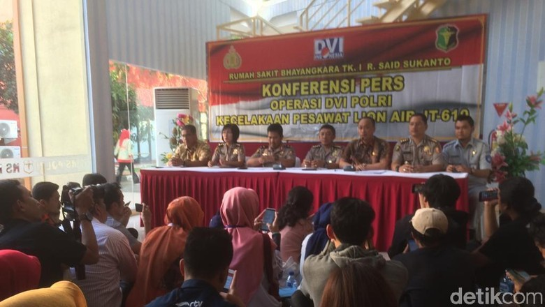 Polisi ke Keluarga Korban Lion Air: Identifikasi Perlu Ketekunan