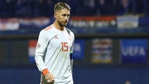 Ramos Pulang ke Madrid Membawa Cedera