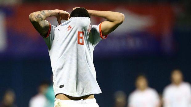 Spanyol kalah lewat gol injury time Kroasia.