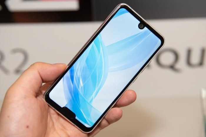 Sharp Aquos R2 Compact. Foto: Android Community