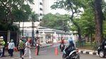 Foto-foto Kebakaran Ruang Fitness Kementerian Pertahanan