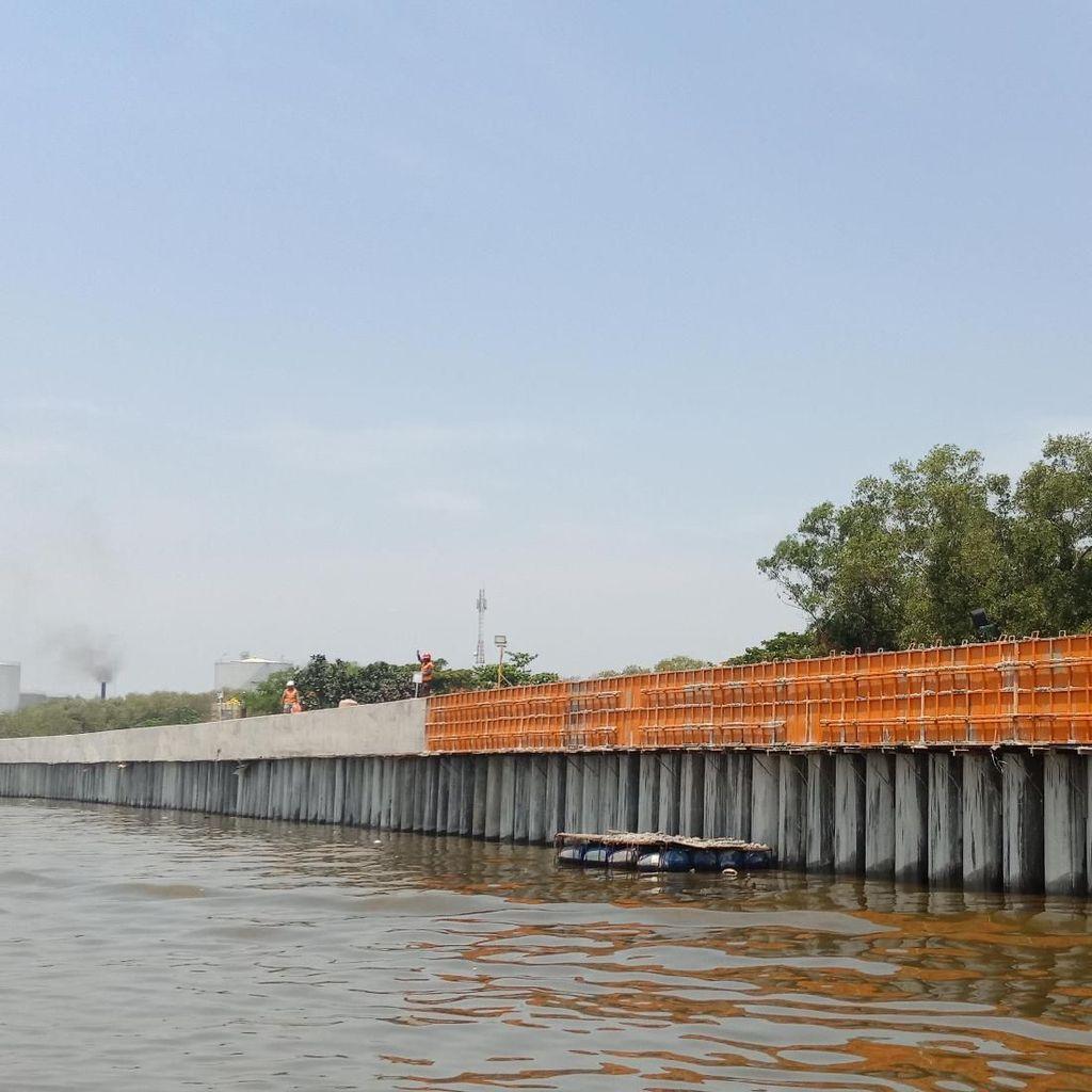 Cegah Rob, Tanggul Pantai Marunda Ditargetkan Selesai Akhir 2018
