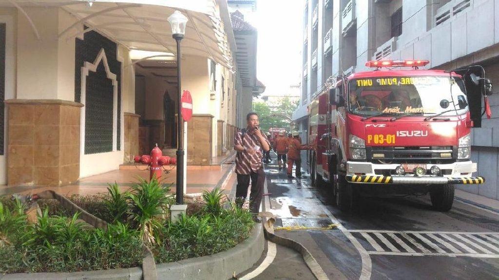 Kebakaran Kementerian Pertahanan Diduga dari Korsleting Heater Sauna