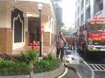 Kebakaran di Kemhan Padam, Mobil Damkar Tinggalkan Lokasi