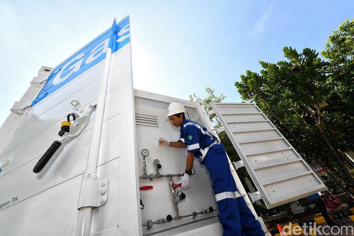 Sebanyak 32 unit Gaslink Truck berbahan bakar gas bumi ini merupakan wujud keseriusan PGN Group untuk melayani pelanggan-pelanggan di luar jaringan pipa gas bumi. Ini juga merupakan upaya perusahaan untuk memperluas jaringan penyebaran penjualan Gaslink.