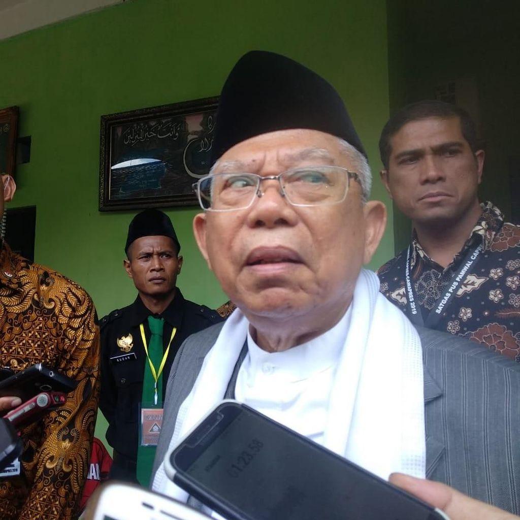 Riau Basis Prabowo, Maruf: Itu Dulu, Sekarang Beda
