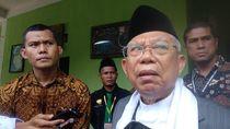Maruf Amin Yakin Kebijakan DNI Tak Pengaruhi Elektabilitas Jokowi