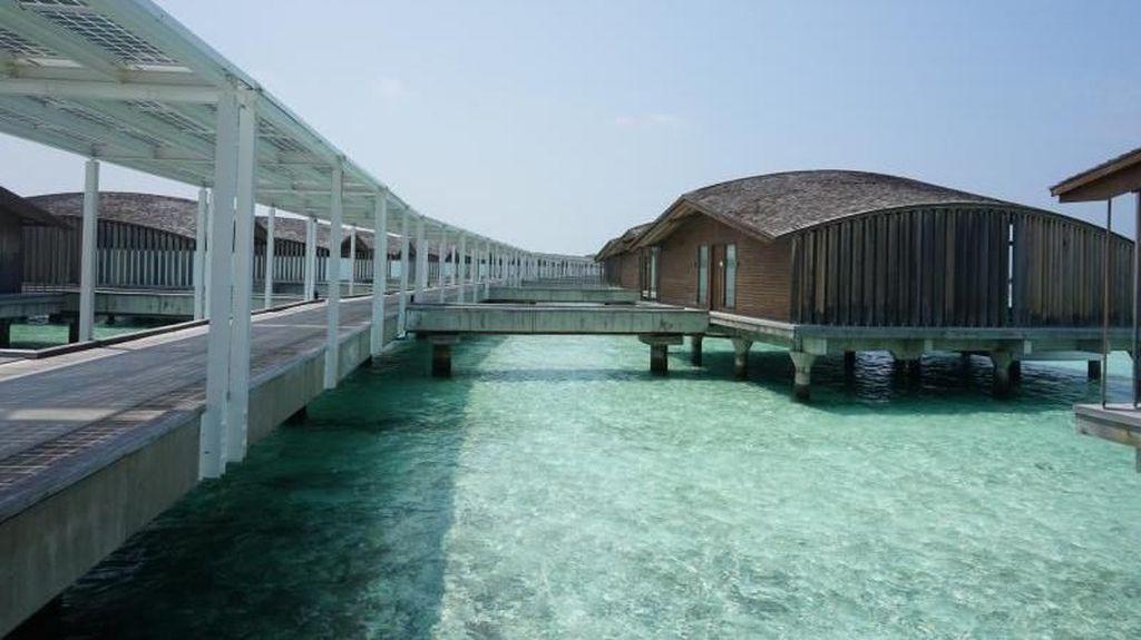 Seperti Ini Vila Bulan Madu Selebriti di Maldives