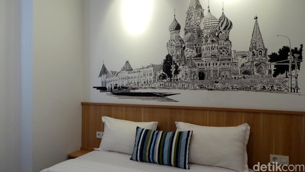 Inilah Casa Living Senayan, hotel baru dengan konsep yang segar buat traveler milenial. Hotel ini beralamat di Jl Penjernihan IV, No 9 RT 12/RW 5, Bendungan Hilir, Tanah Abang, Jakarta. (Wahyu/detikTravel)