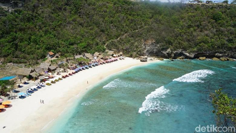 Pantai Atuh di Nusa Penida bagian timur (Syanti/detikTravel)