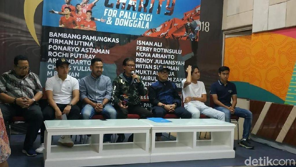 APPI dan Pemain Timnas Gelar Laga Amal untuk Korban Bencana di Sulawesi