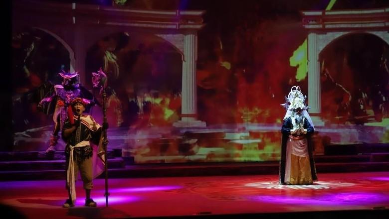 100 Persen Multimedia, Budget Mahabarata Teater Koma Lebih Tinggi