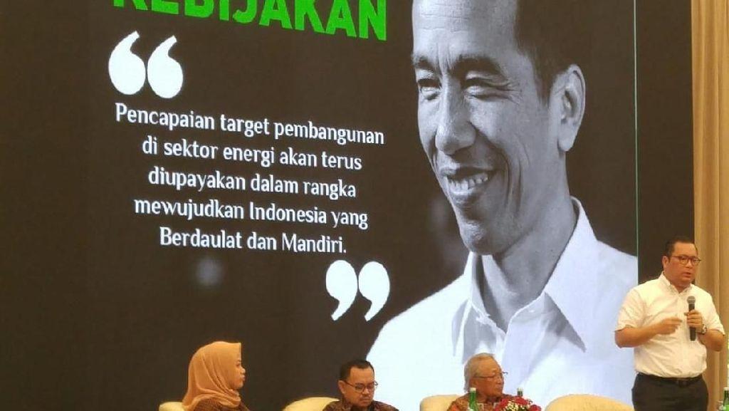 Arif Budimanta Paparkan Kebijakan Energi Jokowi