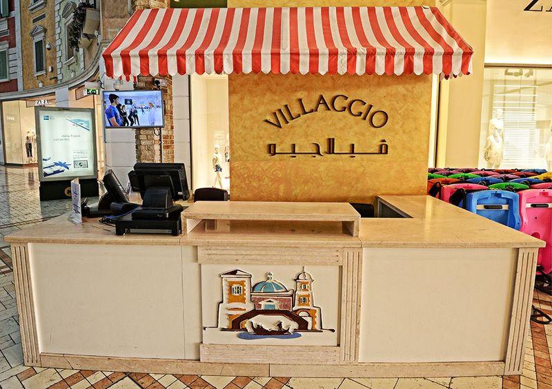 Tak perlu jauh-jauh ke Italia untuk melihat kecantikan Venesia. Mall Villaggio di Qatar hadir dengan interior bertema Venesia (Villaggio Qatar)