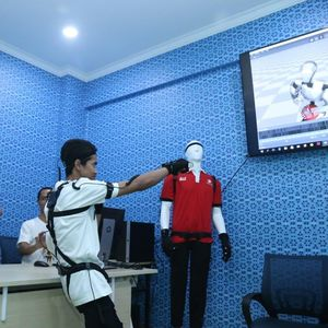 Menaker Resmikan Rumah Animasi dan Game di Bekasi