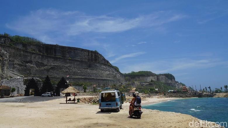 Foto: Keliling Bali dengan motor (Syanti/detikTravel)