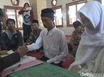 Dua Sejoli Pembuang Bayi di Jombang Menikah di Kantor Polisi