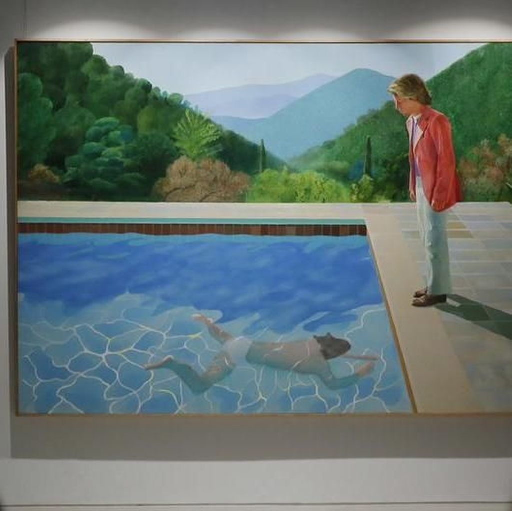Wow! Lukisan David Hockney Terjual Rp 1,3 Triliun