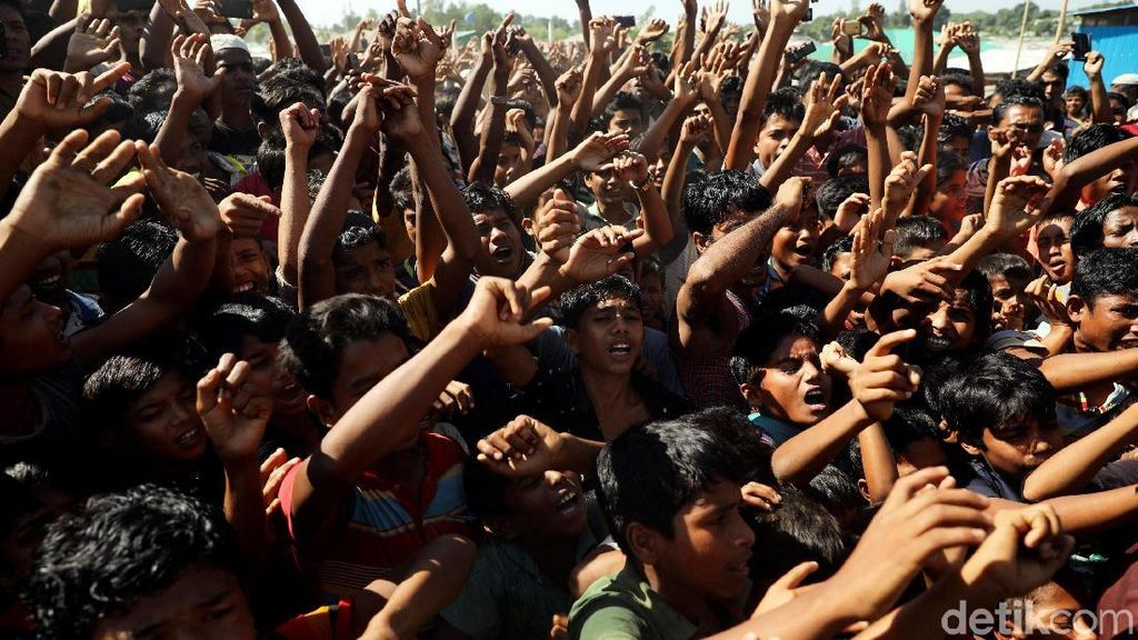 Nyaris 100 Warga Rohingya Diadili karena Coba Kabur dari Rakhine