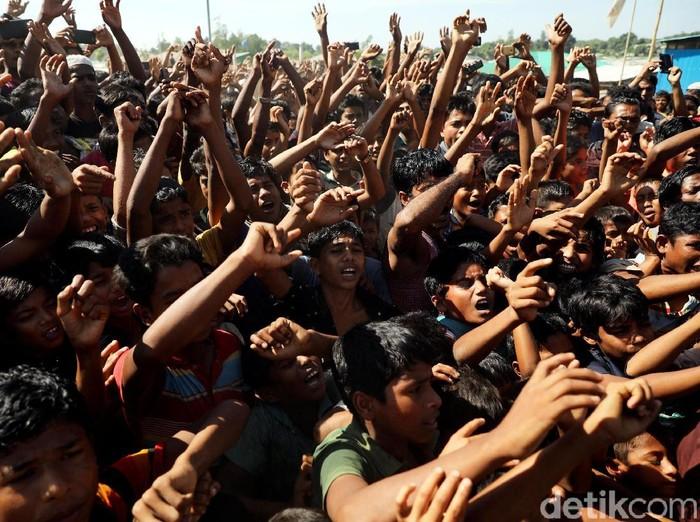 Ilustrasi -- Pengungsi Rohingya (Reuters)