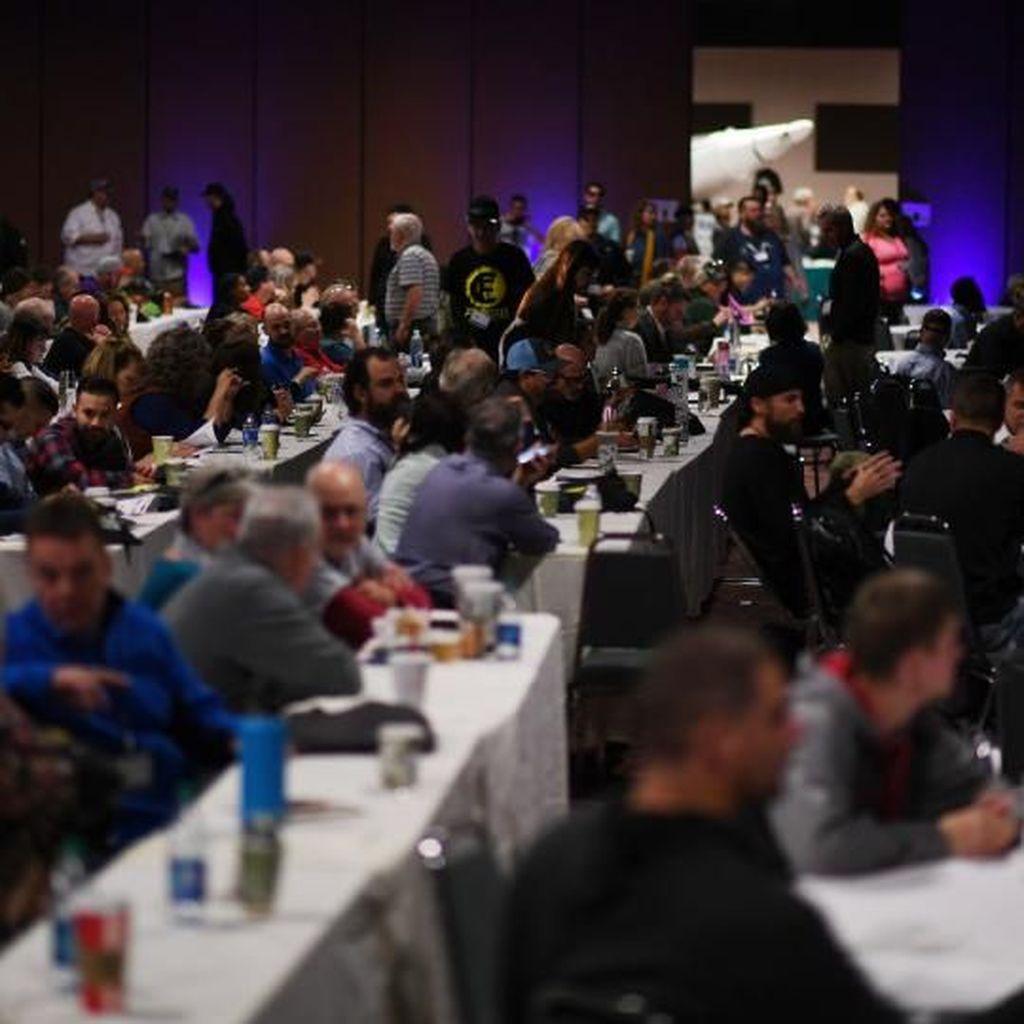 Ratusan Penganut Bumi Datar Konferensi di Amerika