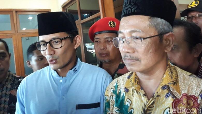 Ini yang Dibahas Sandi Saat Kunjungi Kantor Muhammadiyah DIY
