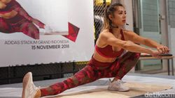 Punya Body Ramping Ideal, Jennifer Bachdim Tak Pernah Takut Makan Enak