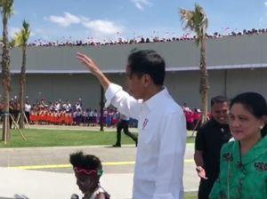 Jokowi: Ada Semangat Avengers di Kapsul Waktu Papua