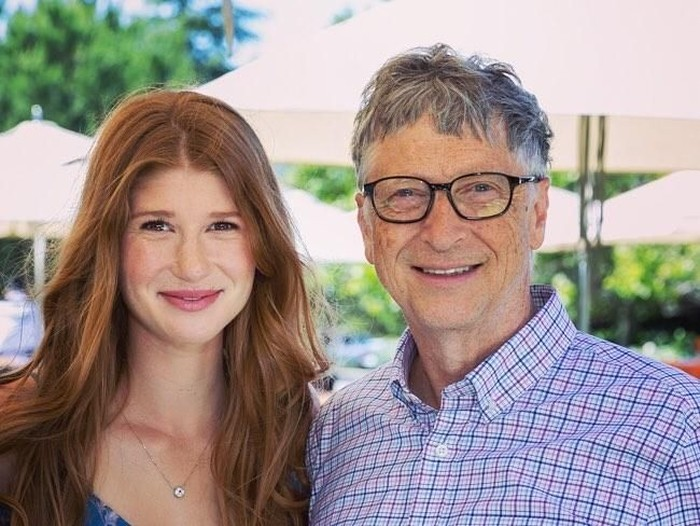 Jennifer dan Bill Gates. Foto: dok. Instagram