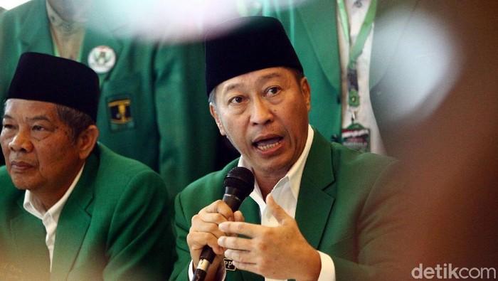 Ketum PPP Muktamar Jakarta Humphrey Djemat (Grandyos Zafna/detikcom)