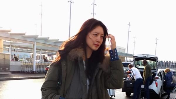 Di negara asalnya, Seoul, ia juga sering traveling (claudiashkim/Instagram)