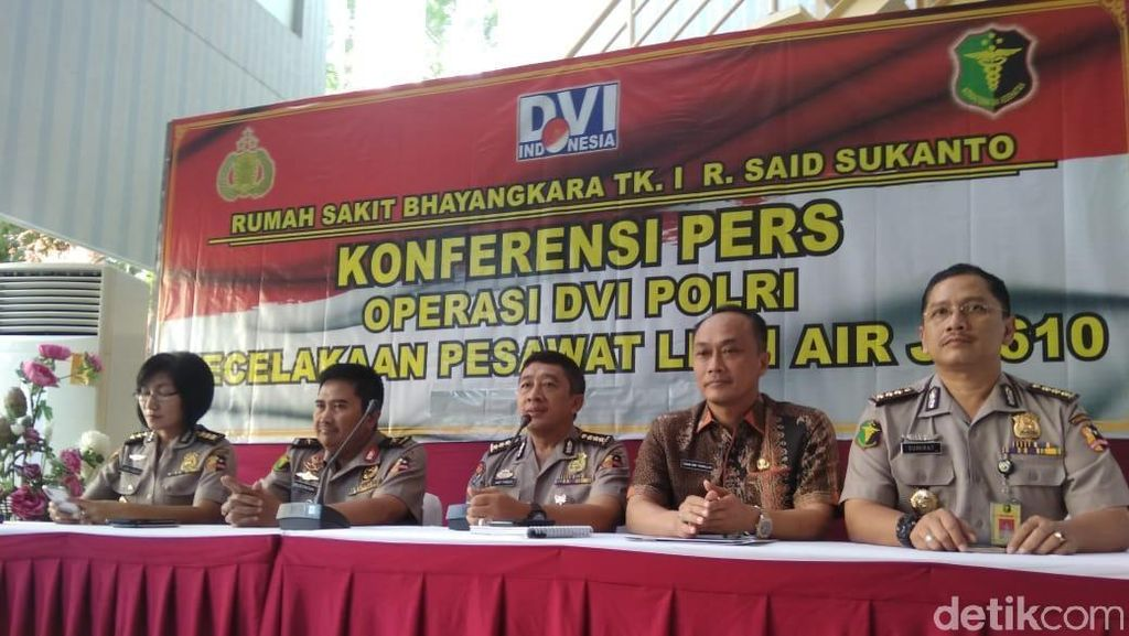 Surat Kematian Semua Korban Lion Air akan Terbit, Ini Prosedurnya