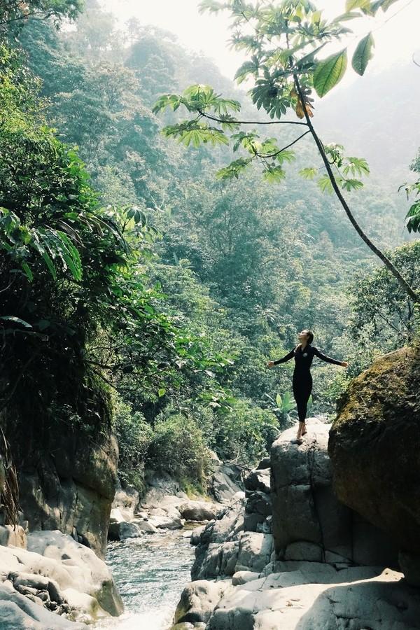 Curug Cibaliung adalah air terjun yang paling atas dari kawasan wisata Leuwi Hejo (My Trip My Adventure)