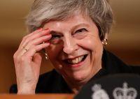 PM May Sebut Inggris Bisa Jadi Wilayah tak Bertuan