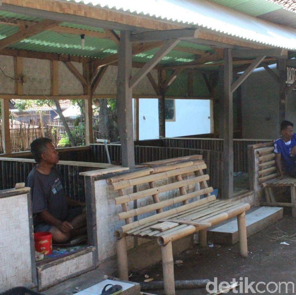 Penampakan Saung Kaki Gunung Guntur Tempat Haris Simamora Ditangkap