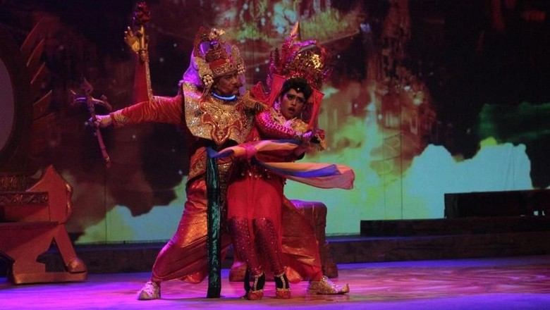 Melihat Kisah Mahabarata yang Kekinian dari Teater Koma Foto: Pementasan Mahabarata (Dok. image Dynamics)