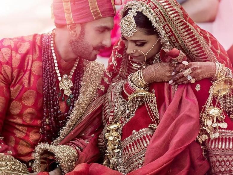 Foto: Deepika Padukone dan Ranveer Singh (dok. Twitter)