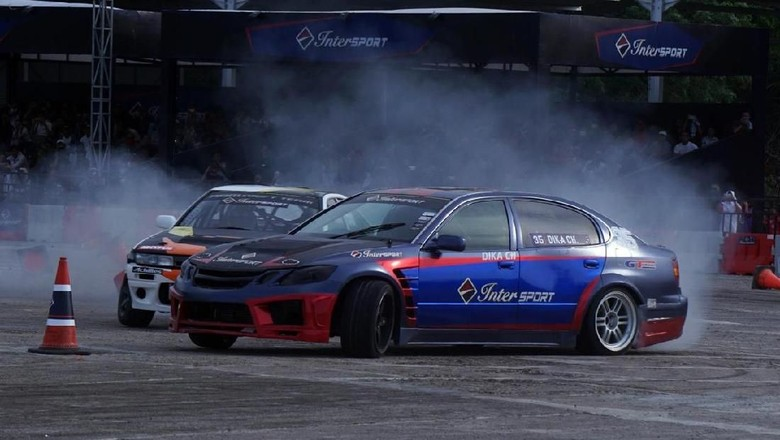 Ilustrasi Drifting Foto: Pool (Intersport)