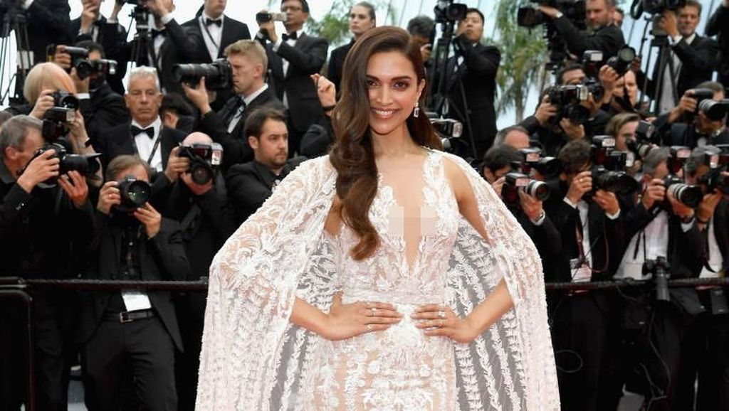 Penampilan Glamor Deepika Padukone dengan Gaun Cantik Bak Pengantin