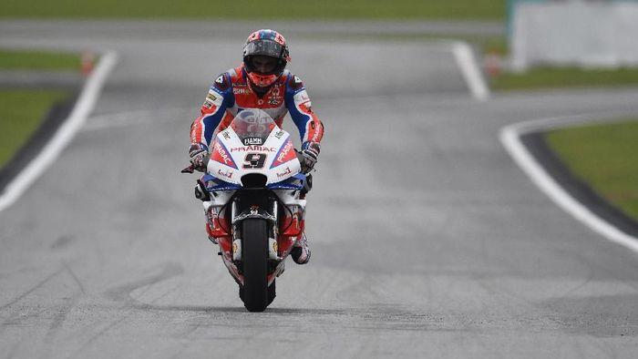Danilo Petrucci tercepat di sesi kedua latihan bebas MotoGP Valencia (Mirco Lazzari gp/Getty Images)