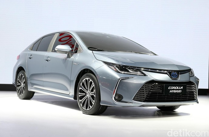 Toyota Corolla ini akan menggunakan platform GA-C yang membuat mobil terlihat lebih sporty. Istimewa/Toyota.